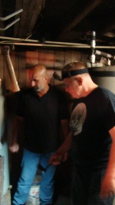 Doug and Steve inspect the sub-basement. The house opened up one of its doors and revealed an amazing mystery.